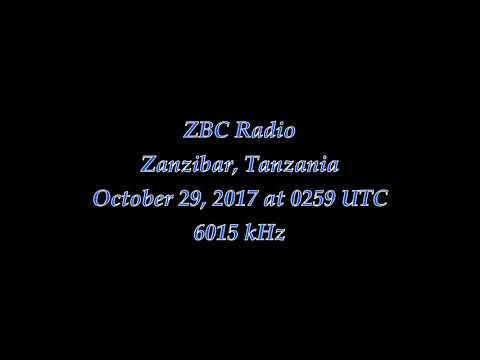 ZBC Radio (Zanzibar, Tanzania) - 6015 kHz