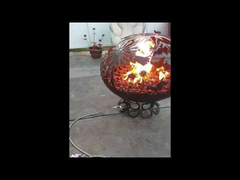 Propane Fire Globe - Country Comfort