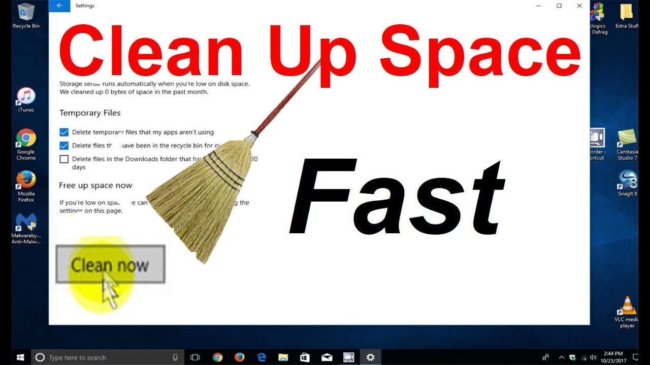 best way to clean your pc for free