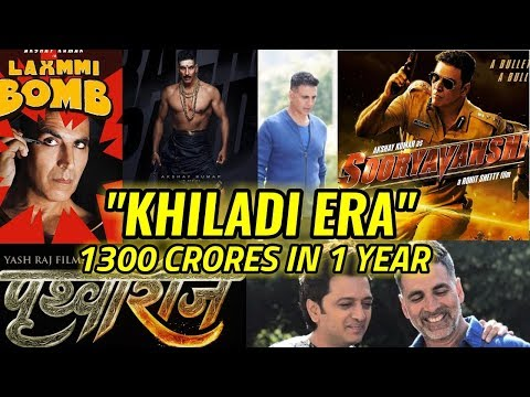 "WELCOME TO AKSHAY KUMAR'S ""KHILADI ERA"" 