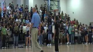 Assistant Principal Breakdances at Pep Rally