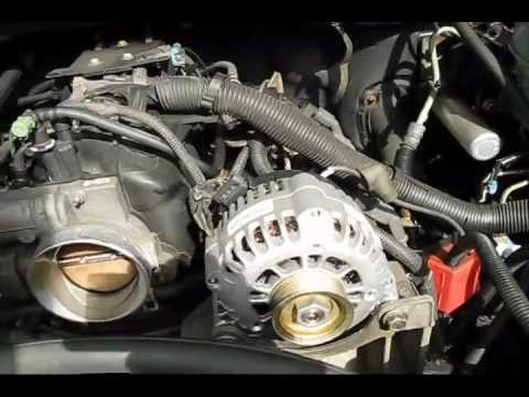 Chevy Wiring Diagram Crutchfield And Guide Alternator Replacement - Chevrolet Avalanche Youtube