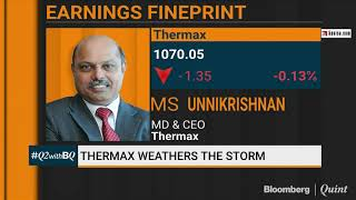 Thermax Weathers The Storm In Q2