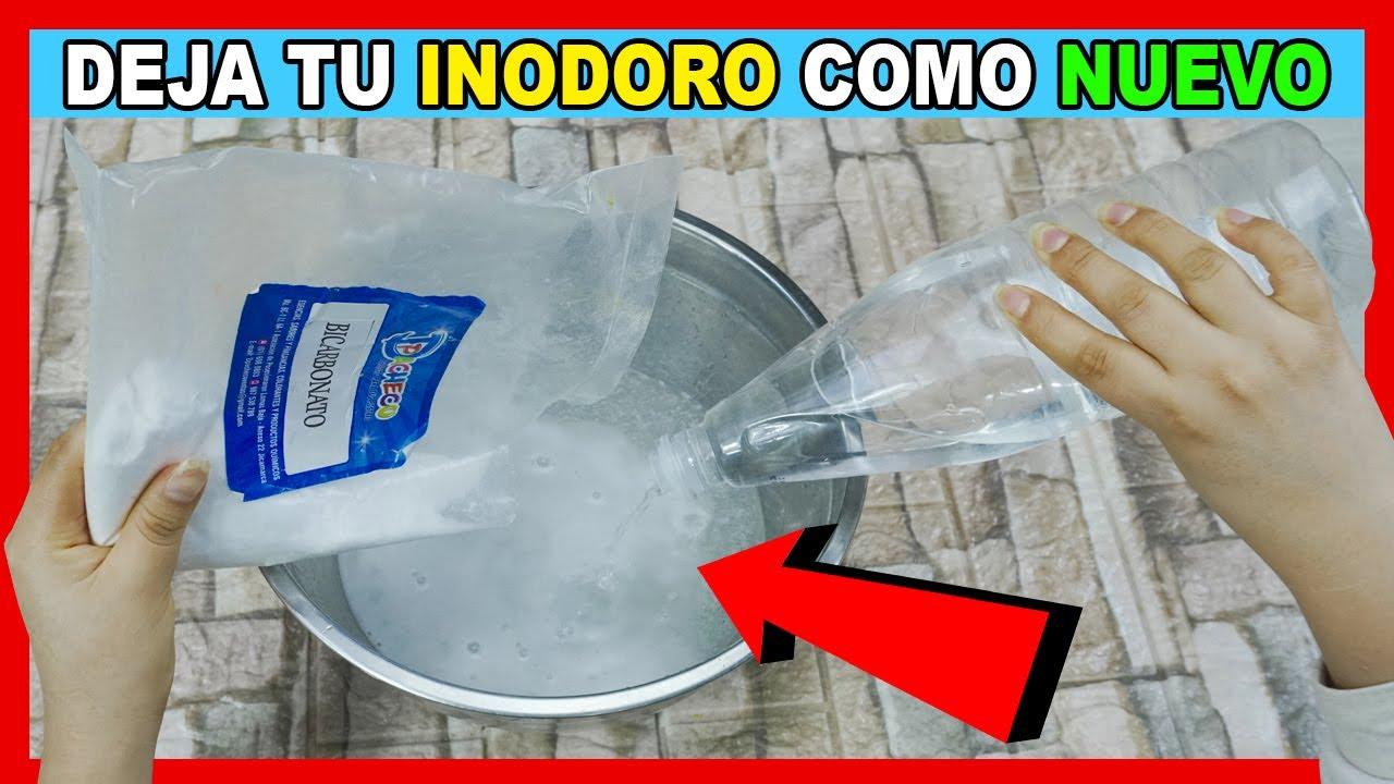 Tu inodoro quedará reluciente y libre de sarro con 2 ingredientes que todos tenemos en casa