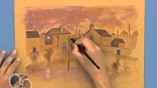 Dibujar la lluvia. Art attack.