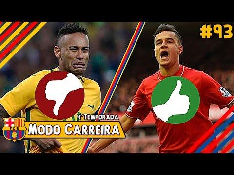 DEU RUIM NAS NEGOCIAÇÕES!! MAS TAMBÉM DEU BOM!! - FIFA 17 Modo Carreira #93