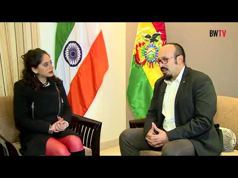 Lithium can bridge the gap in India Bolivia Relations says Bolivian Ambassador and Sergio Arispe