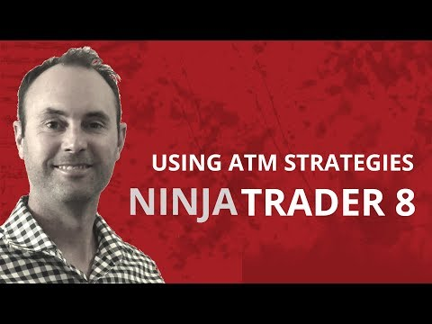 Part 10: How to use Ninjatrader 8 – ATM strategies – A step by step guide