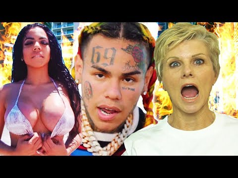 Mom Reacts to 6ix9ine - BEBE Ft. Anuel AA