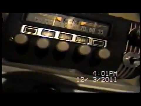 Old 6 volt auto radio
