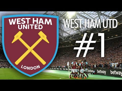 FIFA 17 West Ham United Kariyer Modu #1 - Transfer Operasyonu!