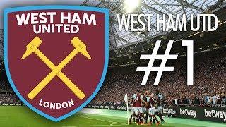 FIFA 17 West Ham United Kariyer Modu #1 - Transfer Operasyonu!