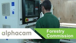 Forestry Commission Scotland use Alphacam for sign manufacture