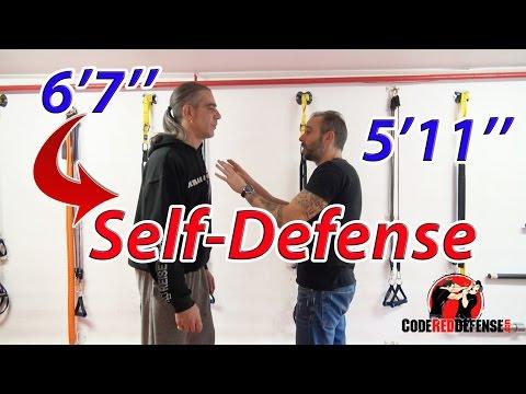 Self-Defense against a 6'7'' Tall Attacker