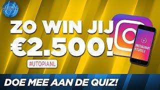 Zo win jij 2.500 euro! | UTOPIA