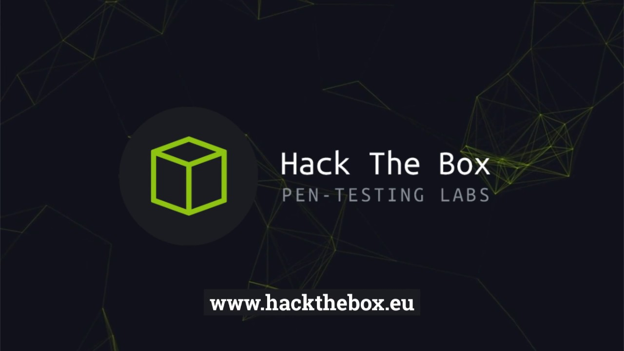 Hack The Box :: Penetration Testing Labs