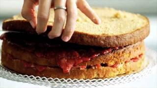 Step 5: Espresso Cake - Assemble Cake Layers