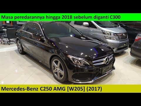 Mercedes-Benz C250 AMG [W205] (2017) review - Indonesia
