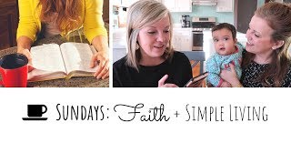 NEW!! If Becca can do it, SO CAN YOU!! 😉 Faith + Simple Living (Coffee with Dawn & Diana) thumbnail