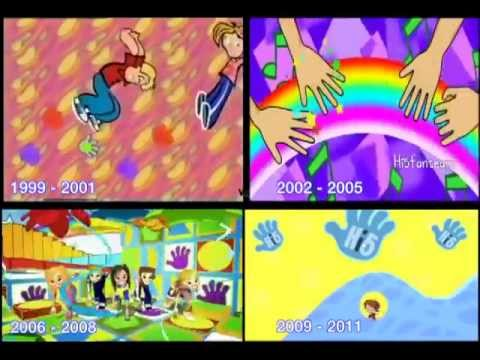 Hi-5 Theme song animation through the years 1999-2011