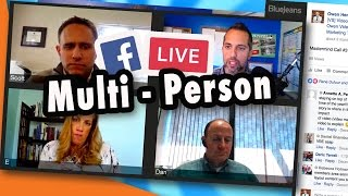 Live Stream Tips: 2 person Facebook Live stream Interviews with Bluejeans (tutorial)