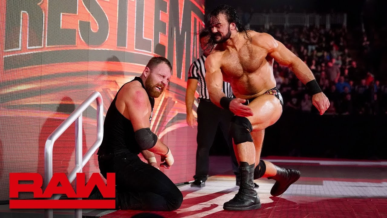 Dean Ambrose vs. Drew McIntyre - Falls Count Anywhere Match: Raw, March 11, 2019