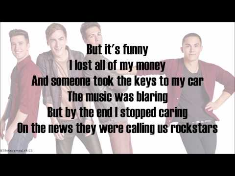 Big Time Rush - Do It All Again (with lyrics)