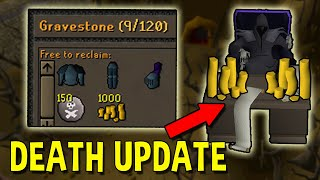 Death in OSRS is Now Way More …