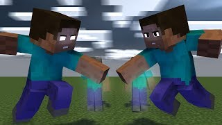 Minecraft Animation STEVE VS HEROBRINE (part 2)