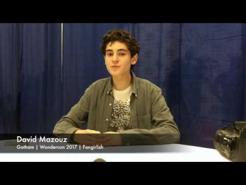 'Gotham' Wondercon 2017 Interview | David Mazouz