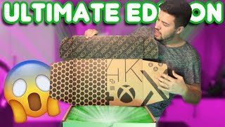 Xbox One X Unboxing! - $1500+ ULTIMATE EDITION