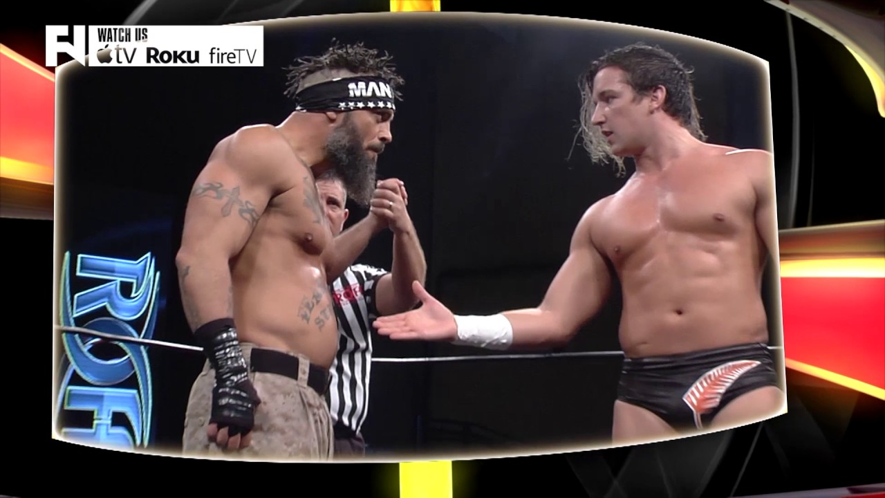 Jay White vs  Jay Briscoe on Ring of Honor - Tune in Tuesday at 10 p m  ET