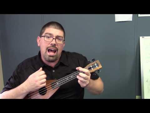 Swing Low, Sweet Chariot, easy ukulele