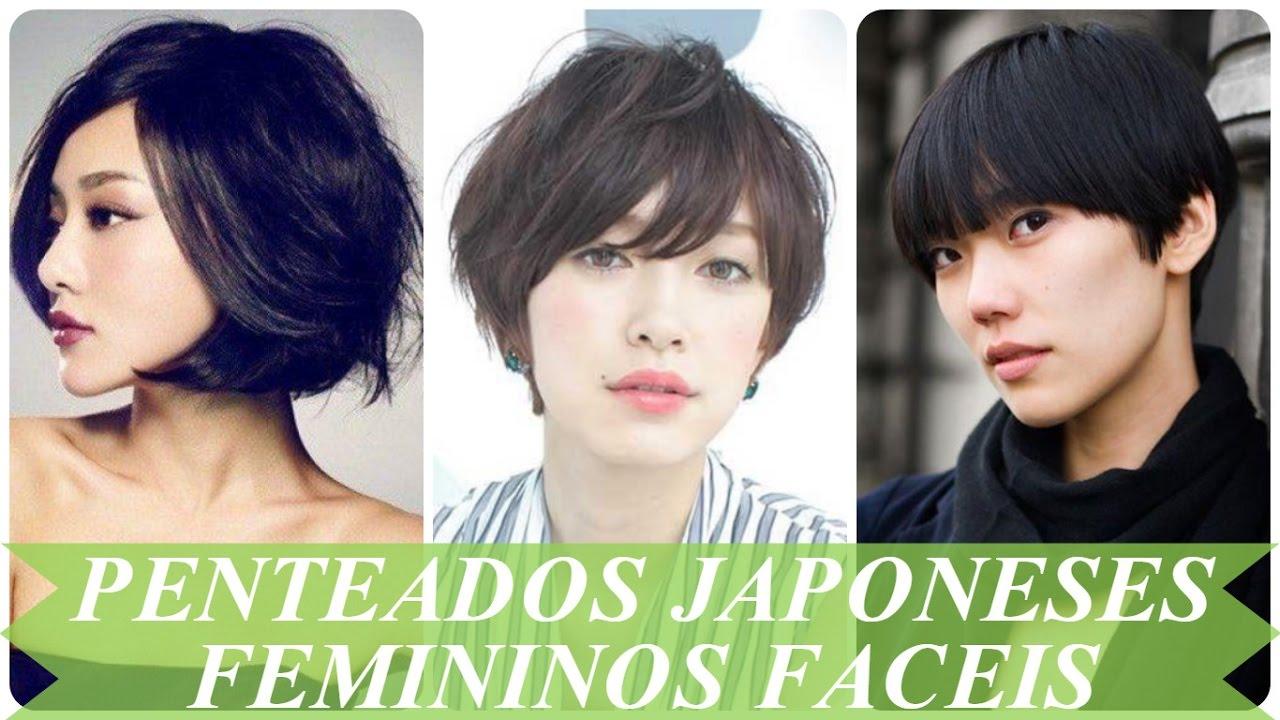 Penteados Japoneses Femininos Faceis