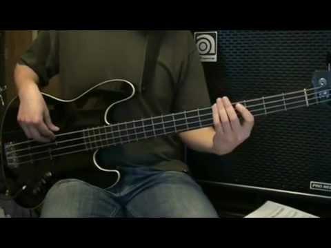 Flobots - Handlebars [bass cover] (with tab)