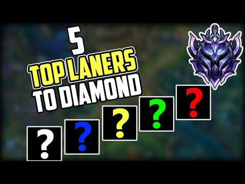5 Top Laners That WILL Get You To Diamond | Top 5 Best Top Laners For Carrying Solo Queue Season 9