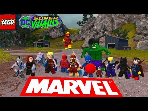 Marvel Characters In LEGO DC Super Villains