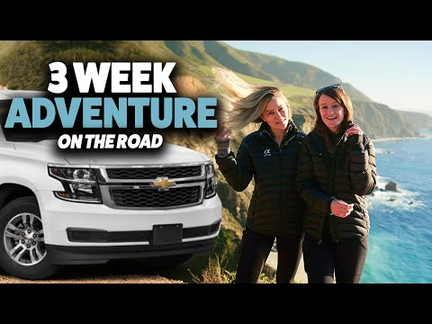 3 Week Road Trip Adventure! LA to Big Sur | Part 1