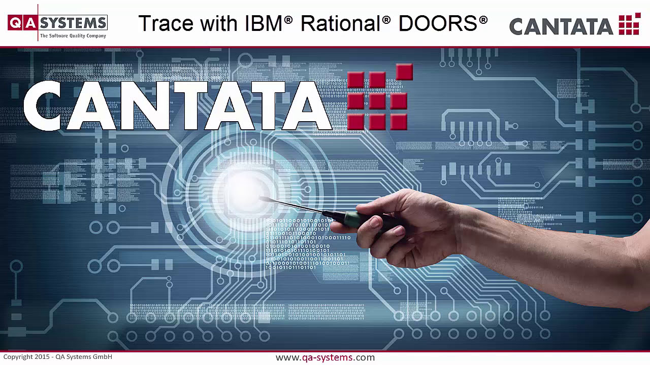 Cantata Trace with IBM® Rational® DOORS®