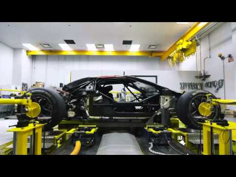 2017 Ford GT 3.5L Ecoboost Supercar Development Footage