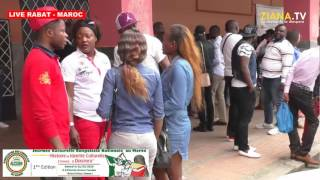 LIVE RABAT - MAROC. Les congolais mobilisés pour la journée culturelle de l'ACOM