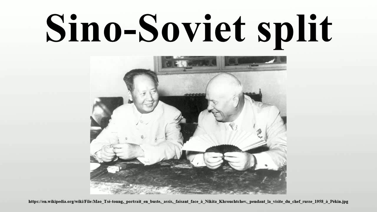 to what extent was the sino soviet