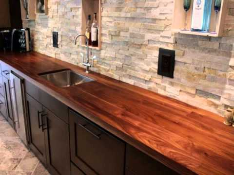 Wood Kitchen Countertops Youtube