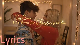 All I Want For Christmas Is You (Cover by Coco Quin) - LYRICS - Mariah Carey