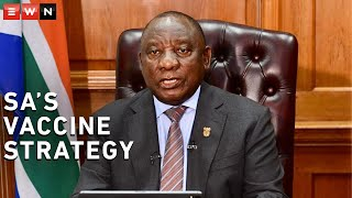 During his address to the nation, President Cyril Ramaphosa outlined SA's vaccine strategy, which is in three parts.  #Vaccine #Covid19news #CoronavirusSA
