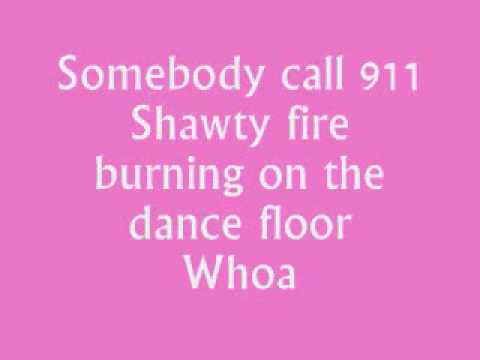 Fire Burning - Sean Kingston (Lyrics)