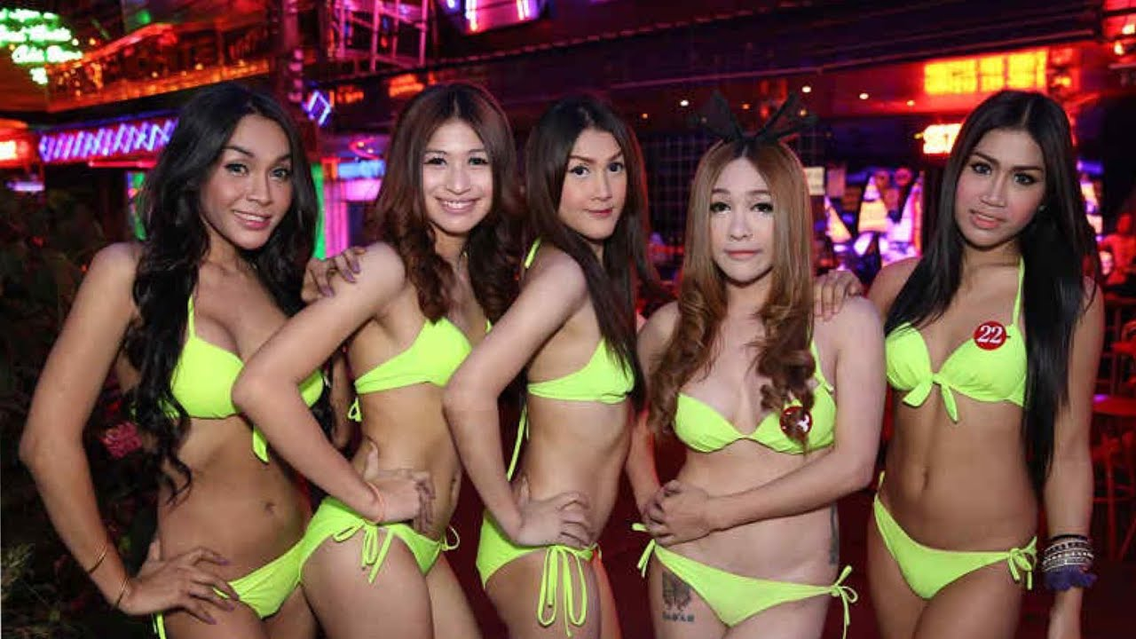 Three ladyboys and a boyfriend arrested for theft, bribery