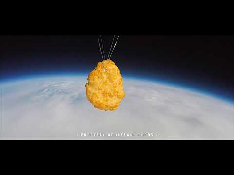 The First Nugget in Space | Iceland Foods