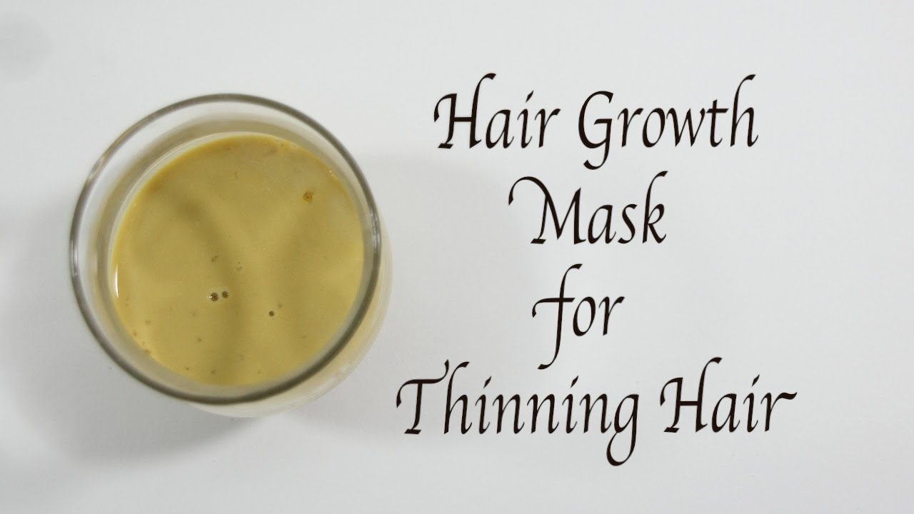 Hair Growth Mask For Thinning Hair YouTube