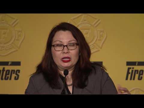 Sen. Tammy Duckworth (D-IL)- IAFF Legislative Conference 2017